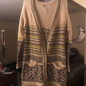 Free people sweater/cardigan